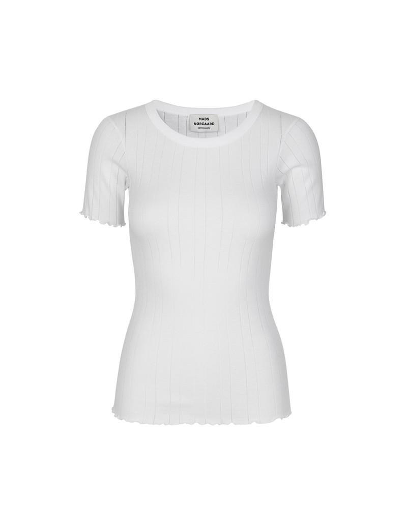 d2bd68b0846 Fri fragt over 499,- • Trixa t-shirt hvid • Mads Nørgaard