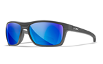 KINGPIN Polarized Blue Mirror<br />Matte Graphite Frame