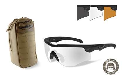 ROGUE COMM +<br />TACTICAL EYEWEAR POUCH <br>Combo Deal