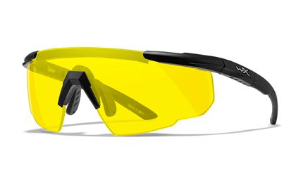 SABER ADV. Yellow<br />Matte Black Frame w/Bag