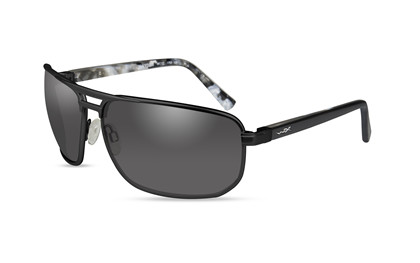 HAYDEN Smoke Grey<br />Matte Black Frame