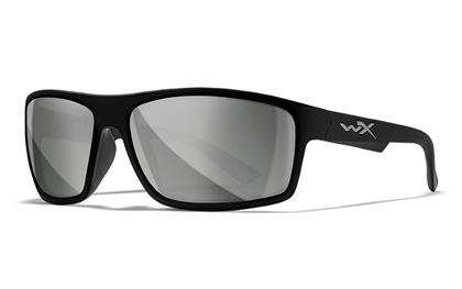 PEAK Grey Silver Flash<br />Gloss Black Frame