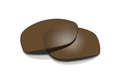 REBEL Polarized Bronze<br />Extra Lenses