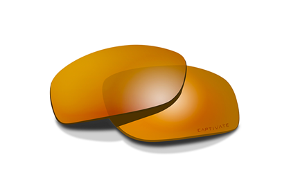 OMEGA Captivate Bronze Mirror<br />Extra Lenses