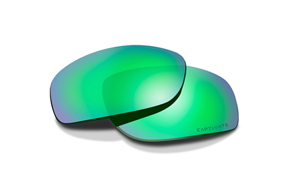 HELIX Captivate Green Mirror<br />Extra Lenses