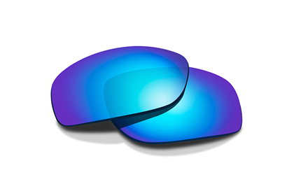 KINGPIN Polarized Blue Mirror<br />Extra Lenses