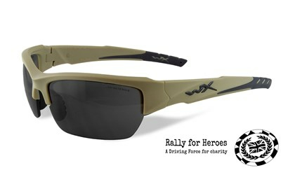 VALOR Smoke Grey<br />Tan Frame