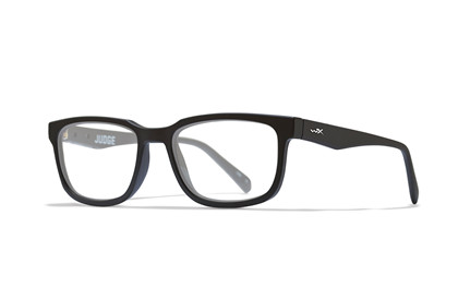 JUDGE Clear Lens<br />Matte Black Frame