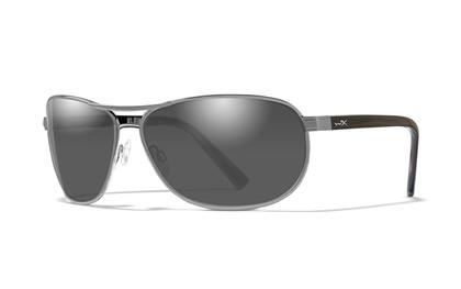 KLEIN Smoke Grey<br />Silver Frame