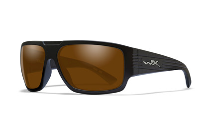 VALLUS Polarized Amber<br />Matte Black Frame