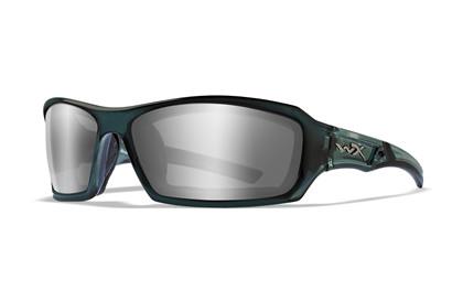 ECHO Smoke Grey Silver Flash<br />Smoke Steel Blue Frame