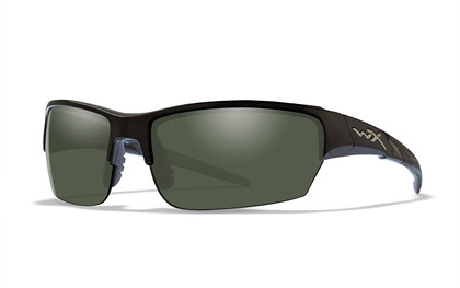 SAINT Polarized Green<br />Gloss Black Frame