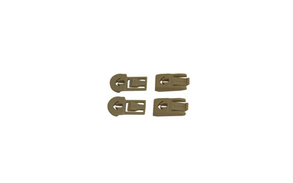 ARC Rail Attachment Clip & Bar<br />Set for RAS, Tan