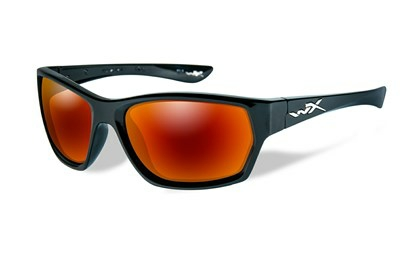 MOXY Polarized Crimson Mirror<br />Gloss Black Frame