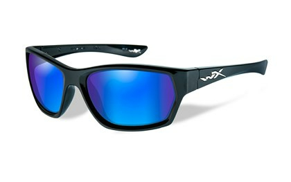 MOXY Polarized Blue Mirror<br />Gloss Black Frame