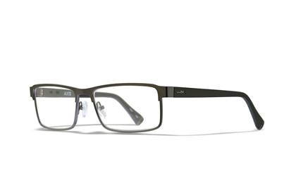 AXIS Clear Lens Matte Dark<br />Gunmetal/Utility Green Frame