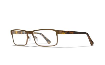 AXIS Clear Lens<br />Matte Brown/Demi Frame