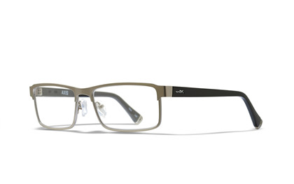 AXIS Clear Lens<br />Matte Silver/Gloss Black Frame