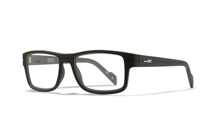EPIC Clear Lens<br />Matte Black Frame