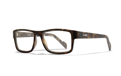 EPIC Clear Lens<br />Gloss Black Demi Frame