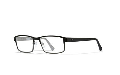 FUSION Clear Lens<br />Matte Black/Silver Frame