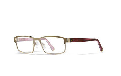 FUSION Clear Lens<br />Gold/Pink Frame