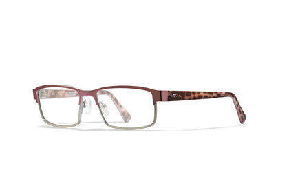 FUSION Clear Lens<br />Matte Silver/Pink Frame