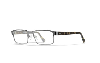 FUSION Clear Lens<br />Gunmetal/Black Demi Frame