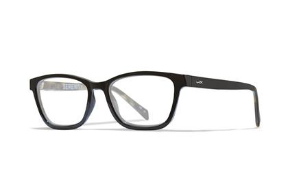 SERENITY Clear Lens<br />Gloss Black/Olive Demi Frame