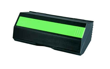 YF Black Case w Lime<br />Green Ruler