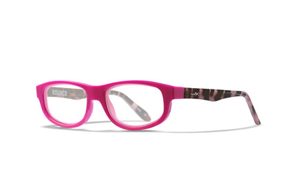 BOUNCE Clear<br />Raspberry Rose/Pink Demi Frame
