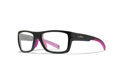 CRUSH Clear<br />Matte Grey/Deep Pink Frame