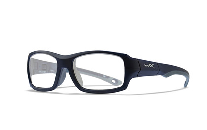 FIERCE Clear<br />Matte Blue Indigo/Grey Frame