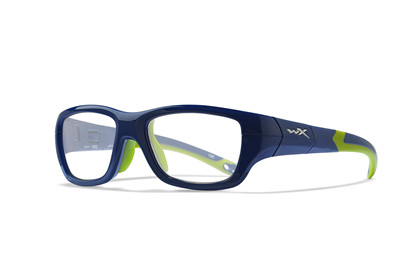 FLASH Clear<br />Royal Blue/Lime Green Frame
