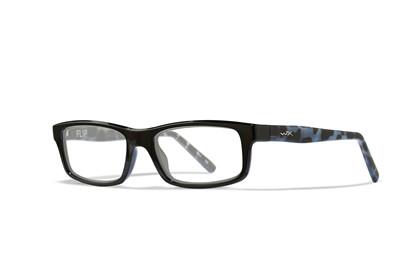 FLIP Clear<br />Black/Black Demi Frame