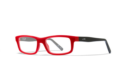 FLIP Clear<br />High Risk Red/Black Frame