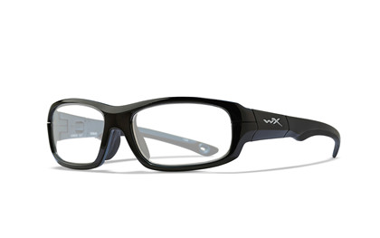 GAMER Clear Gloss Black/<br />Metallic Blue Frame