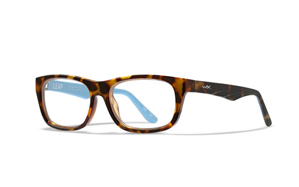 LEAP Clear<br />Brown Demi/Blue Grotto Frame