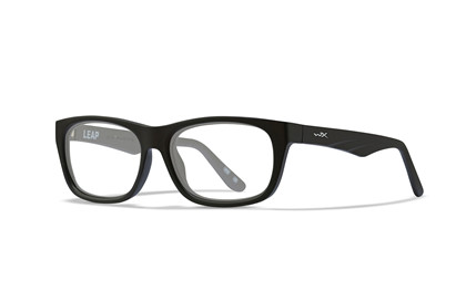 LEAP Clear<br />Matte Black Frame