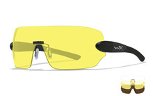 DETECTION Clear/Yellow/Copper<br />Matte Black Frame