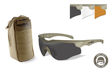 ROGUE COMM +<br />TACTICAL EYEWEAR POUCH<br> Combo Deal