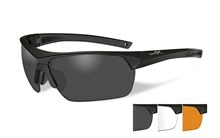 GUARD ADV <br />Smoke/Clear/Light Rust<br />Matte Black Frame