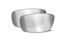 BRICK Smoke Grey Silver Flash<br />Extra Lenses