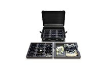 WX Demo Case Tactical Config<br />2 Eyewear Trays 1 Open Tray