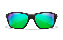 ASPECT Pol Emerald Mirror<br />Matte Black Frame