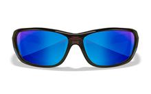 GRAVITY Polarized Blue Mirror<br />Black Crystal Frame