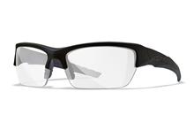 VALOR Clear Lens<br />Matte Black Frame