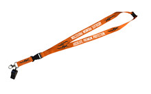 WX Key Hanger<br />Orange w/Black Lock