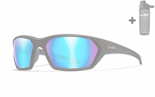 IGNITE Polarized Blue Mirror<br />Matte Black