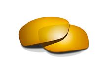 KINGPIN Pol Amber Gold Mirror<br />Extra Lenses